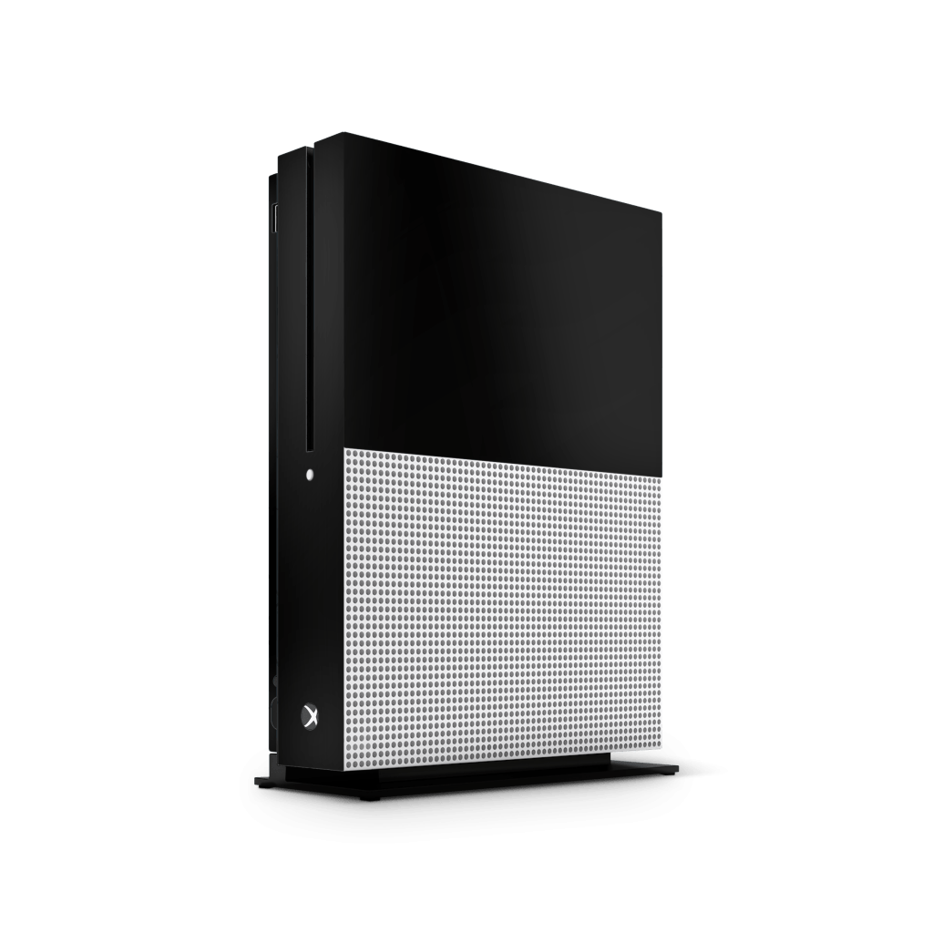 Xbox One S basic sticker zwart skin Ucustom