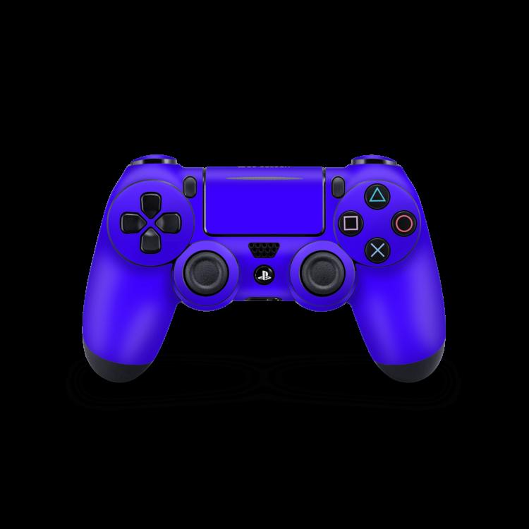 Playstation 4 Controller Basic sticker Blauw skin Ucustom