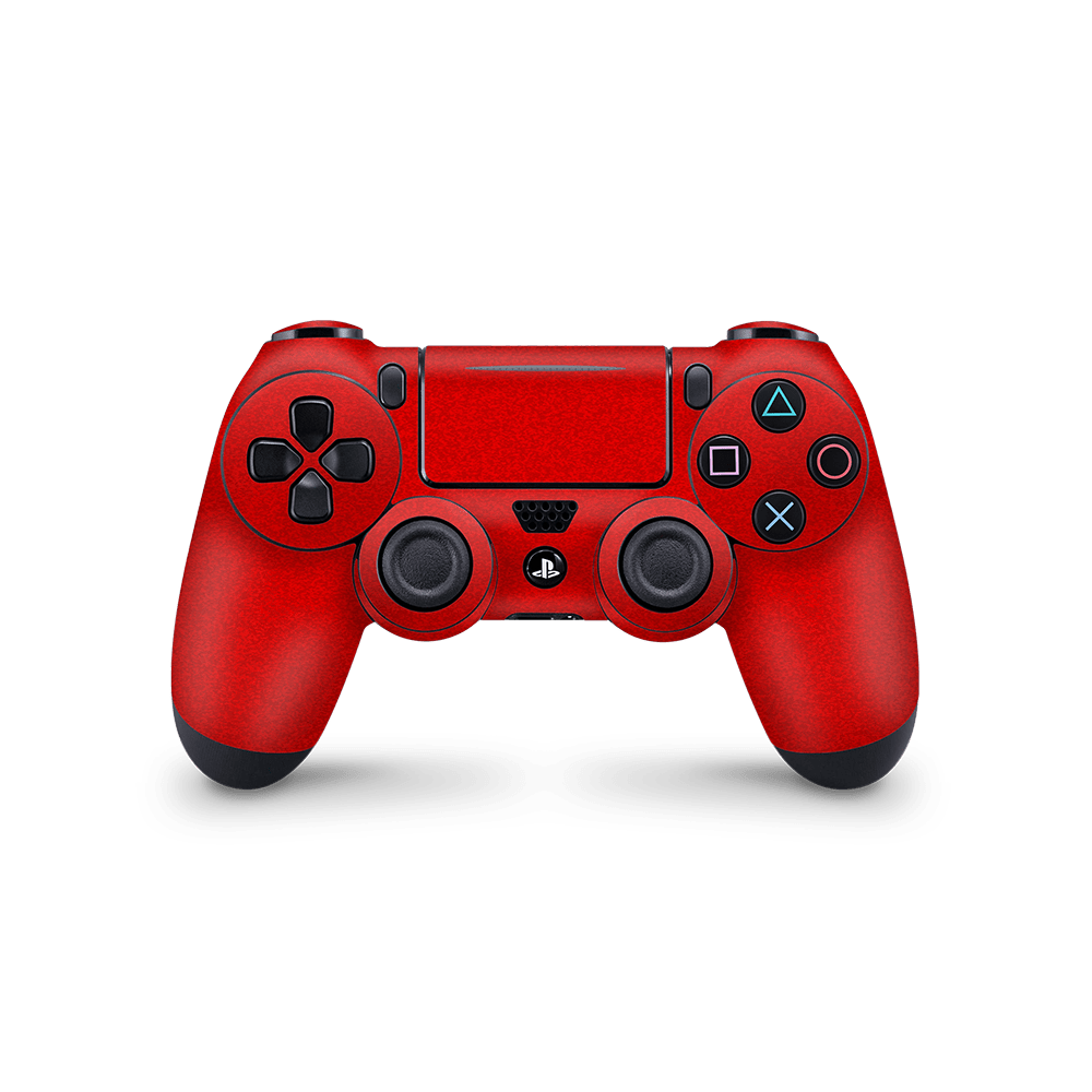 Playstation 4 Controller Faded sticker rood skin Ucustom
