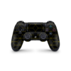 Playstation 4 Controller Hexagon sticker geel skin Ucustom