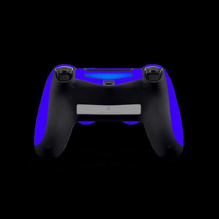 Playstation 4 Controller Basic sticker blauw skin achterkant Ucustom