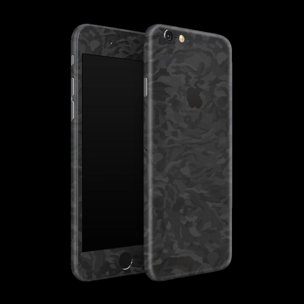 iPhone 6 Skin Camouflage Zwart -Ucustom