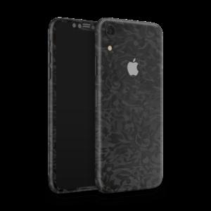 iPhone Xr Camouflage Skin Zwart