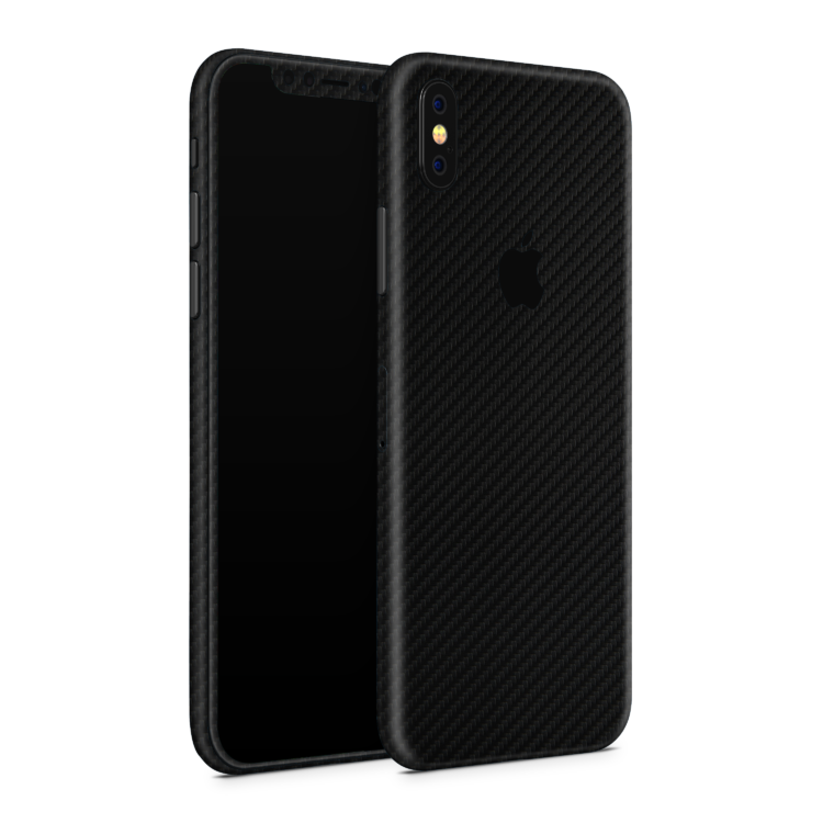 iPhone_Xs_Black_Carbon_Angled_Skin
