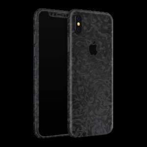 iPhone XS Camouflage Skin Zwart Ucustom