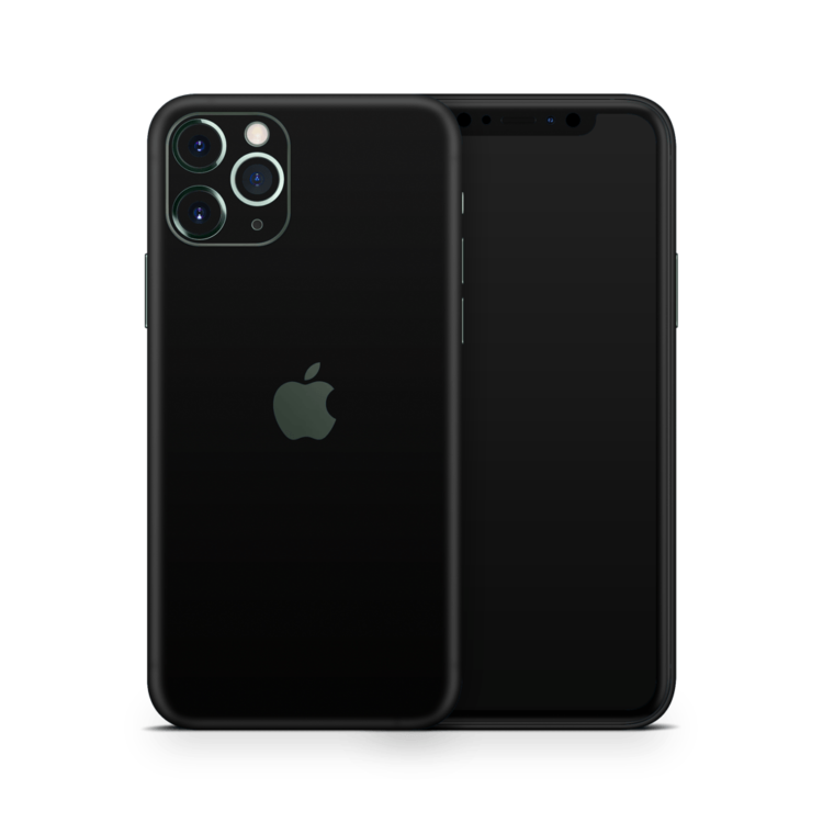 iPhone 11 pro Mat zwart skin