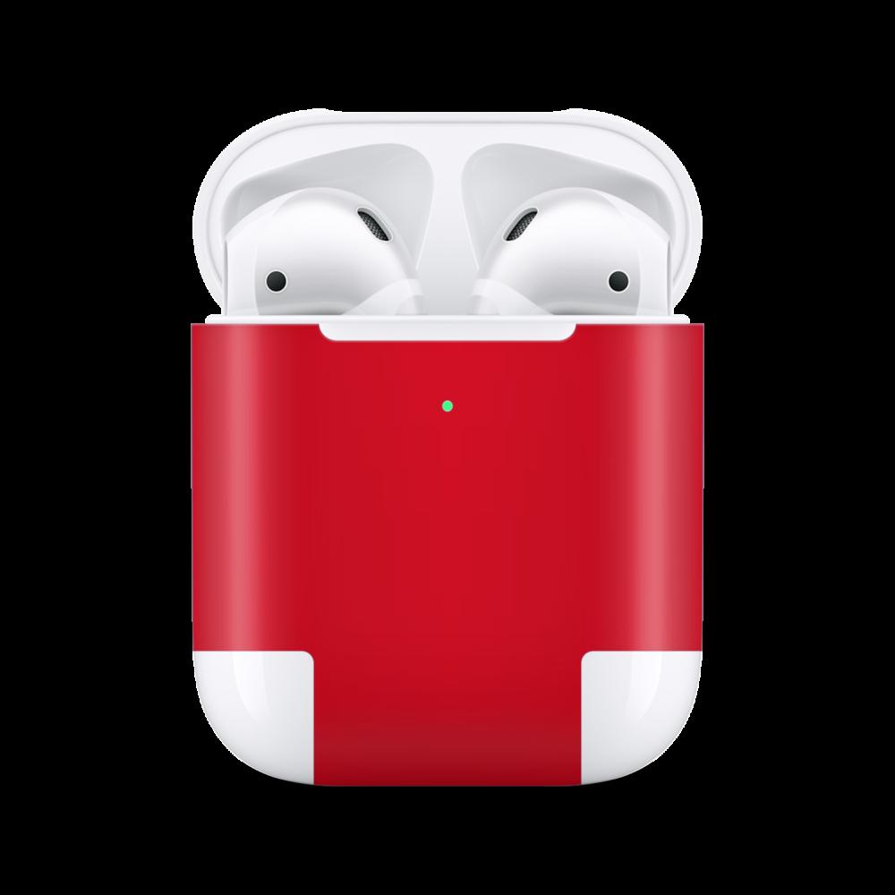Red Skin voor Airpod Case
