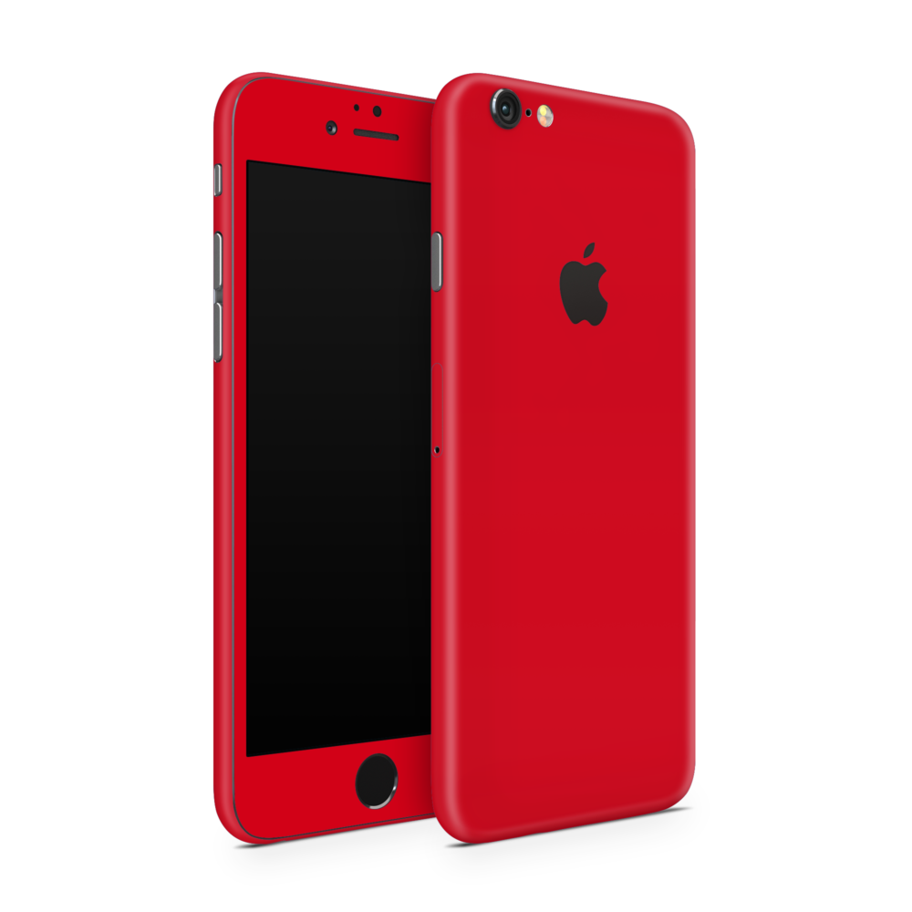 iPhone 6 Skin Rood -Ucustom